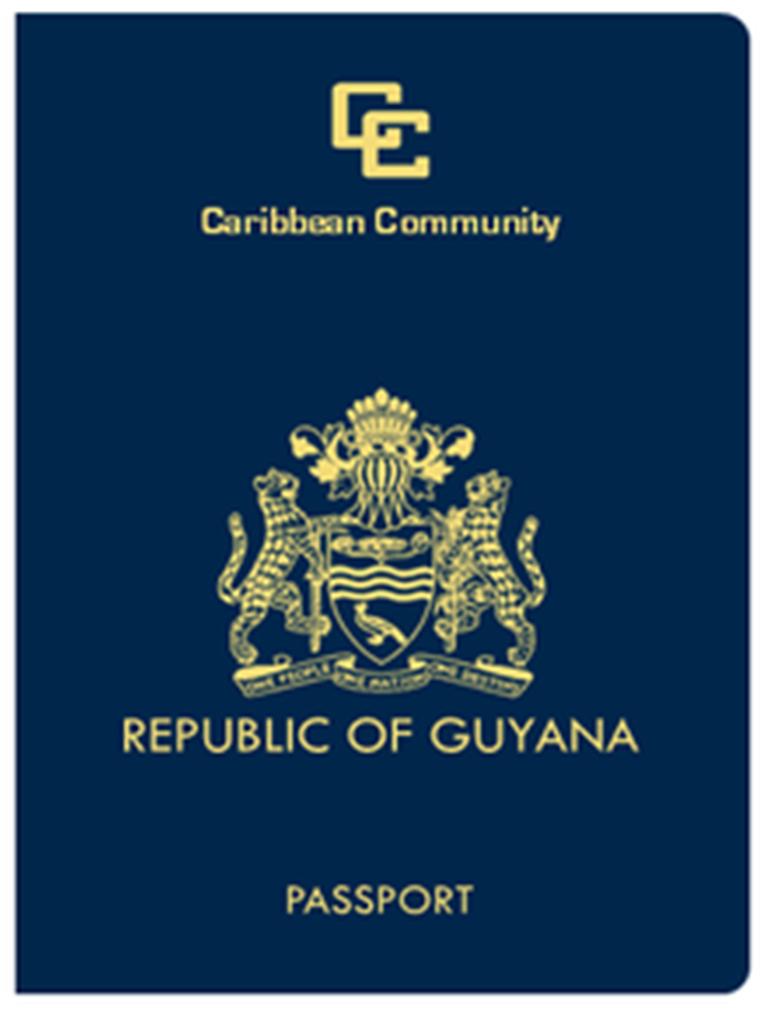 Guyana Caricom Passport Guyanese Association Of Barbados Inc