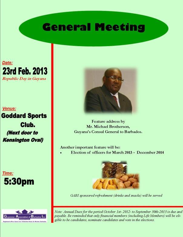 GABI AGM Meeting flyer